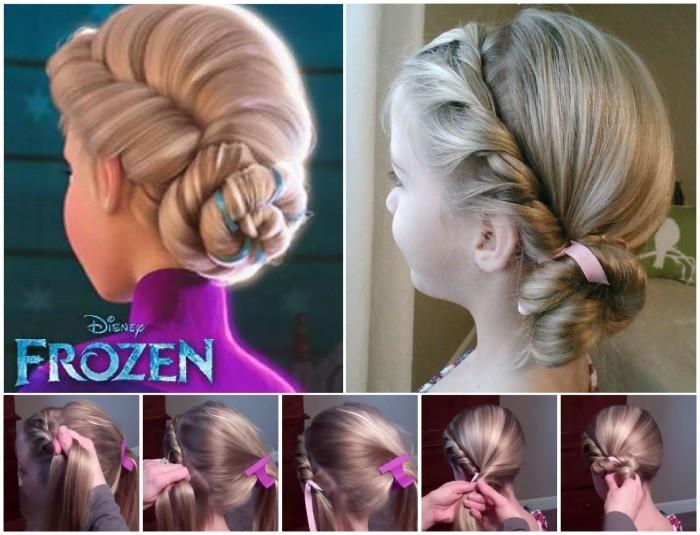 10 belles coiffures pour votre petite fille facilement réalisables